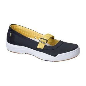Keds Hampton Sport Navy Blue Mary Janes Shoes Flat